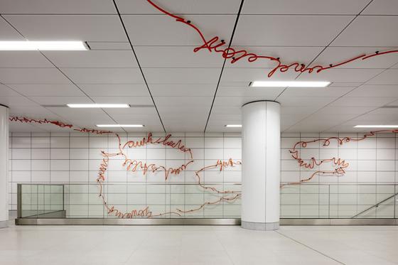 netzwerkarchitekten, Darmstadt,  Kunst am Bau: Enne Haehnle, Leipzig © 2016 by Jörg Hempel; www.joerg-hempel-co